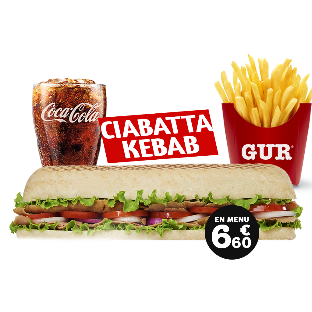 carte - GUR Kebab : Restaurant Kebab, livraison à domicile, vente