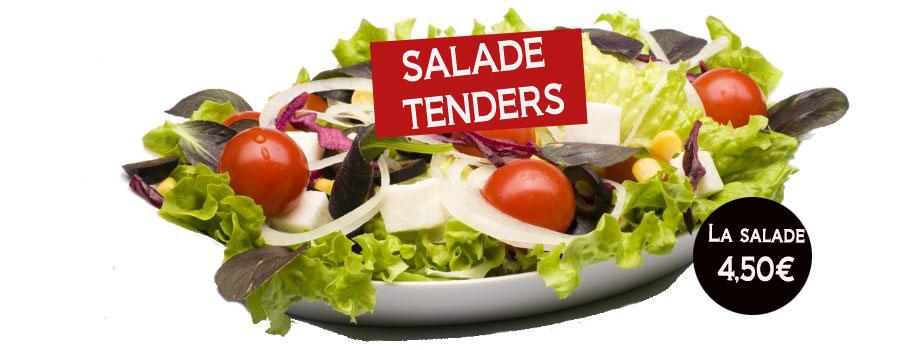 salade tenders - gur kebab - gur kebab : restaurant kebab, livraison