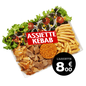 Assiette Kebab - GUR KEBAB