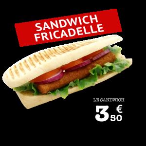 Sandwich Fricadelle - GUR KEBAB