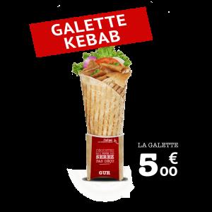 Galette Kebab - GUR KEBAB