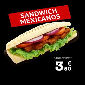 Sandwich Mexicanos - GUR KEBAB