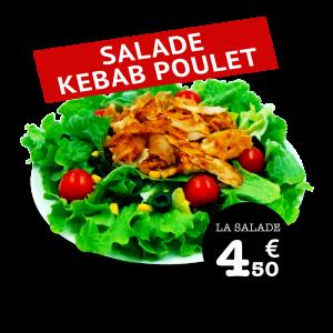 Salade Kebab Poulet - GUR KEBAB