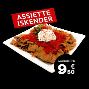 Assiette ISKENDER - GUR KEABAB
