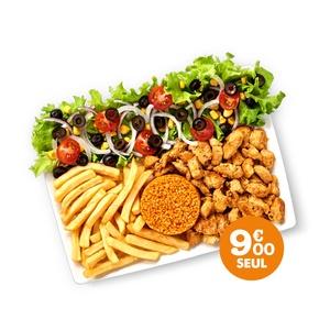 Assiette Plancha - GUR KEBAB