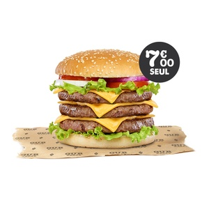 Triple Burger - GUR KEBAB