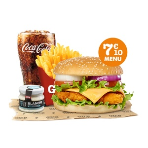 Menu Chicken Burger - GUR KEBAB