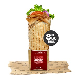 Maxi Galette Kebab - GUR KEBAB