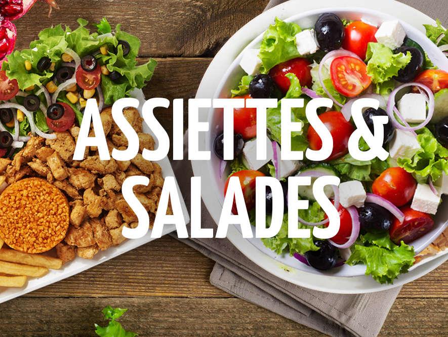 Assiettes et Salades GUR KEBAB